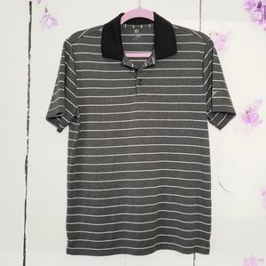 Old Navy Striped Active Fit Polo S